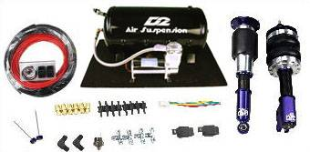 D2 Racing - D2 Racing Air Suspension Kit: 300 / Challenger / Charger / Magnum 2005 - 2010 (RWD) - Image 2
