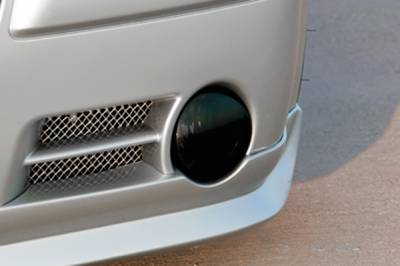 HEMI LIGHTING PARTS - Hemi Blackout Covers - GTS - GT Styling Smoke Fog Light Covers: Chrysler 300C 2005 - 2010