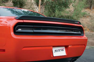 GTS - GT Styling  Smoke Rear Center Panel Cover: Dodge Challenger 2008 - 2014 - Image 2