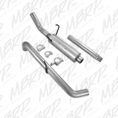 MBRP - MBRP Installer Exhaust: Dodge Ram 2004 - 2005 5.7L Hemi (Reg or Crew Cab / Short Bed) - Image 3