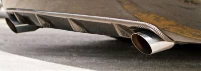 TruCarbon - TruCarbon LG49 Carbon Fiber Rear Diffuser: Dodge Charger 2006 - 2010 - Image 2