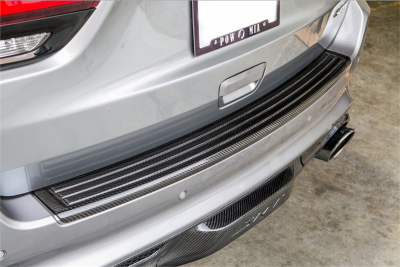 TruCarbon - TruCarbon LG191 Carbon Fiber Rear Step Pad: Jeep Grand Cherokee 2011 - 2021 - Image 2