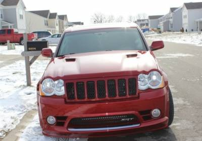 Jeep Grand Cherokee Exterior Parts - Jeep Grand Cherokee Hood - TruFiber - TruFiber A58 Fiberglass Hood: Jeep Grand Cherokee 2005 - 2010