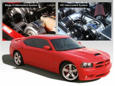HEMI SUPERCHARGER KIT - Hemi Supercharger Kits - Procharger - Procharger Supercharger Kit: Dodge Charger 6.1L SRT8 2006 - 2010