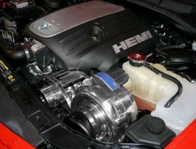 HEMI SUPERCHARGER KIT - Hemi Supercharger Kits - Procharger - Procharger Supercharger Kit: Chrysler 300 5.7L Hemi 2005 - 2010