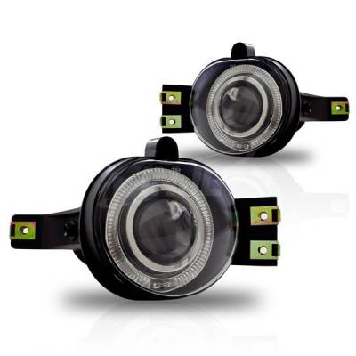Winjet - Winjet Halo Projector Fog Lights: Dodge Durango 2004 - 2006 - Image 1
