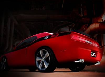 "Borla - Borla Stainless Steel Cat-Back ""S Type"" Exhaust System: Dodge Challenger R/T 2009 - 2014 - Image 2"