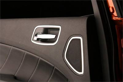 American Car Craft - American Car Craft Rear Door Handle Trim (Polished): Dodge Charger R/T 2011 - 2014 - Image 2