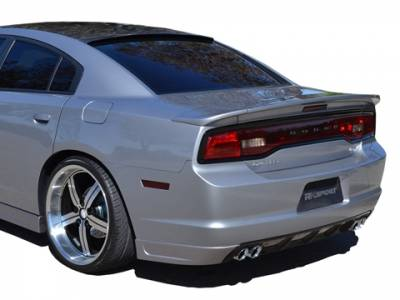 RK Sport - RK Sport Carbon Fiber Roof Spoiler: Dodge Charger 2011 - 2014 - Image 2