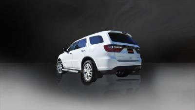 Corsa - Corsa Exhaust System (Black): Dodge Durango 5.7L Hemi 2011 - 2020 - Image 2