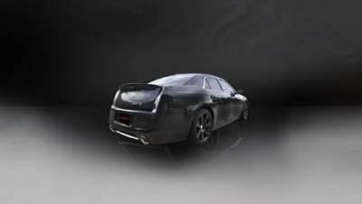 Corsa - Corsa Extreme Cat-Back Exhaust (Black): 300C / Charger SRT8 2012 - 2014 - Image 2