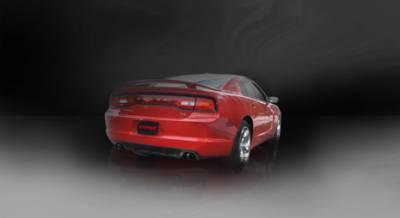 Corsa - Corsa Sport Cat-Back Exhaust (Black): Dodge Charger R/T 5.7L V8 2011 - 2014 - Image 2