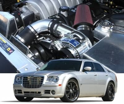 HEMI SUPERCHARGER KIT - Hemi Supercharger Kits - Procharger - Procharger Supercharger Kit: Chrysler 300 6.1L SRT8 2006 - 2010