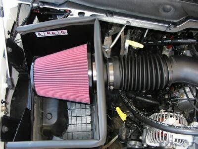 AirAid - AirAid QuickFit Air Intake: Dodge Ram 2002 - 2005 (3.7L / 4.7L / 5.7L / 5.9L) - Image 2