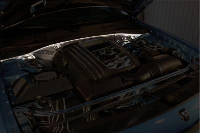American Car Craft - American Car Craft Firewall Cover: Chrysler 300C / Dodge Charger / Magnum SRT8 2006 - 2010 - Image 2