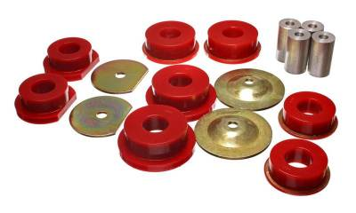 HEMI SUSPENSION PARTS - Hemi Suspension Bushings - Energy Suspension - Energy Suspension Rear Subframe Bushings: 300C / Challenger / Charger / Magnum 2005 - 2010