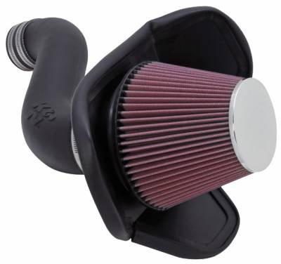 2.7L / 3.5L / 3.6L V6 Engine Parts - 2.7L / 3.5L / 3.6L Air Intakes - K&N Filters - K&N 57 Series FIPK Cold Air Intake: Chrysler 300 / Dodge Challenger / Charger / Magnum 2005 - 2010 (3.5L V6)