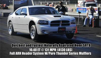 American Racing Headers - American Racing Headers: Chrysler 300C / Dodge Charger / Magnum 5.7L Hemi 2005 - 2008 (2WD) - Image 2