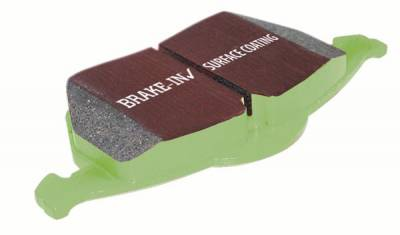 HEMI BRAKE PARTS - Hemi Brake Pads - EBC - EBC Greenstuff Front Brake Pads: Dodge Ram SRT10 2004