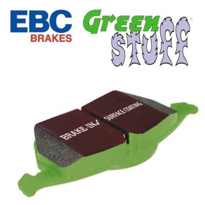 EBC - EBC Greenstuff Front Brake Pads: Dodge Ram SRT10 2005 - 2006 - Image 2