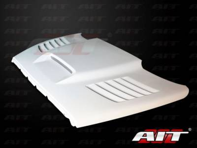 AIT Racing - AIT Racing SSK Style Functional Cooling Hood: Dodge Ram 2002-2008
