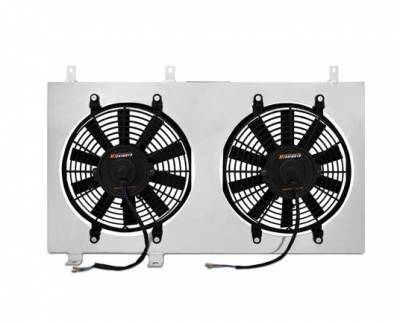 HEMI COOLING PARTS - Hemi Electric Radiator Fans - Mishimoto - Mishimoto Aluminum Fan Shroud: Dodge Neon SRT-4 2003 - 2005
