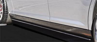 TruCarbon - TruCarbon LG129 Carbon Fiber Side Skirt Splitters: Chrysler 300 2011 - 2020 - Image 2