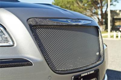 Chrysler 300 Carbon Fiber Parts - Chrysler 300 Carbon Fiber Trim - TruCarbon - TruCarbon LG131 Carbon Fiber Grille: Chrysler 300 2011 - 2014