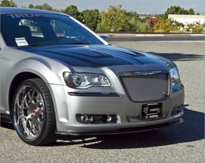TruCarbon - TruCarbon LG133 Carbon Fiber Front Chin Spoiler: Chrysler 300 2011 - 2014 - Image 2