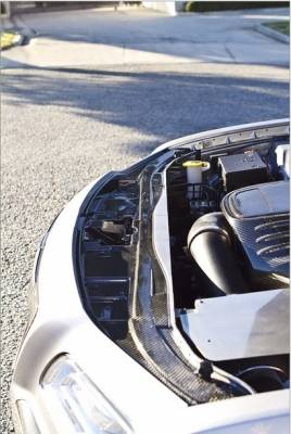 TruCarbon - TruCarbon LG134 Carbon Fiber Radiator Cover: Chrysler 300 2011 - 2014 - Image 2