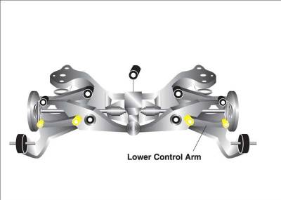 Whiteline - Whiteline Rear Toe Link Bushings (Inner & Outer): 300C / Challenger / Charger / Magnum V8 2005 - 2010 - Image 2
