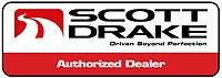 Scott Drake - Scott Drake Billet Aluminum Fuel Door Assembly (MATTE BLACK): Dodge Challenger 2008 - 2019