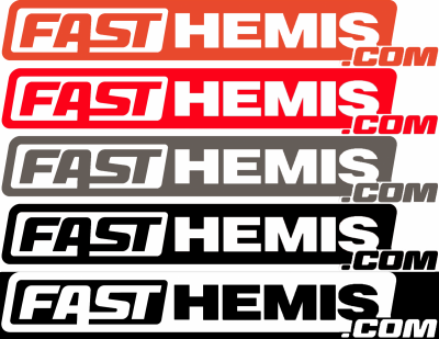 Shop by Parts - HEMI SWAG - FastHemis - FastHemis Stickers (Choose Color)