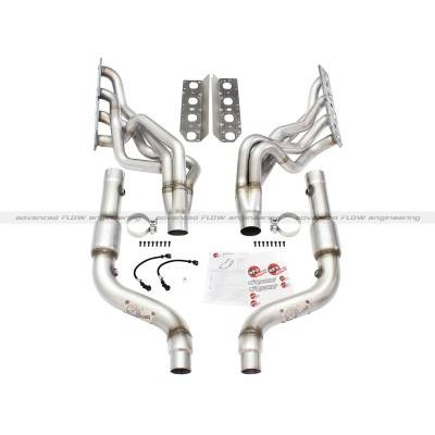 AFE Power - AFE Long Tube Headers & Mid Pipes: Chrysler 300 / Dodge Challenger & Charger 5.7L Hemi 2009 - 2018