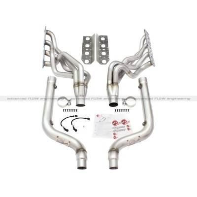 AFE Power - AFE Long Tube Headers & Mid Pipes: Chrysler 300 / Dodge Challenger & Charger 5.7L Hemi 2009 - 2020 - Image 2