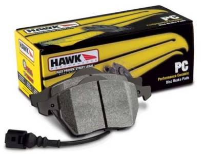 HEMI BRAKE PARTS - Hemi Brake Pads - Hawk - Hawk Ceramic Front Brake Pads: Jeep Grand Cherokee SRT8 2012 - 2016