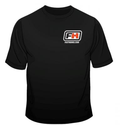 FastHemis - FastHemis T-Shirt (Black - Short Sleeve) - Image 2