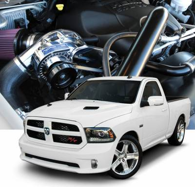 HEMI SUPERCHARGER KIT - Hemi Supercharger Kits - Procharger - Procharger Supercharger Kit: Dodge Ram 5.7L Hemi 2015 - 2019