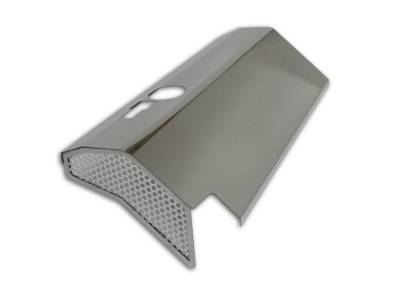 American Car Craft - American Car Craft Fuel Rail Covers Polished / Perforated (Aftermarket Air Box): Chrysler 300C / Dodge Challenger / Charger / Magnum 6.1L SRT8 2006 - 2010 - Image 4