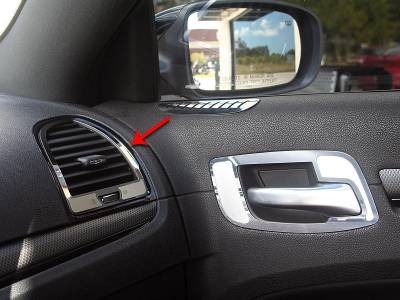 American Car Craft - American Car Craft A/C Vent Trim Outer Polished / Brushed: Chrysler 300 2011 - 2013 - Image 3