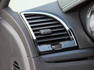 American Car Craft - American Car Craft A/C Vent Trim Outer Polished / Brushed: Chrysler 300 2011 - 2013 - Image 1