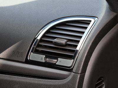 American Car Craft - American Car Craft A/C Vent Trim Outer Polished / Brushed: Chrysler 300 2011 - 2013 - Image 2