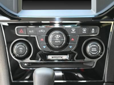 American Car Craft - American Car Craft Polished A/C Radio Control Trim Ring 2Pc:  Chrysler 300 2011-2013 - Image 1