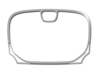 American Car Craft - American Car Craft Polished Navigation Center A/C Vent Trim Ring 2Pc:  Chrysler 300 2011 - 2014 - Image 4