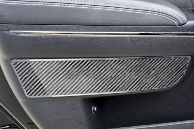 American Car Craft - American Car Craft Front Carbon Fiber Door Badge 2pc: Dodge Charger 2011 - 2021 - Image 2