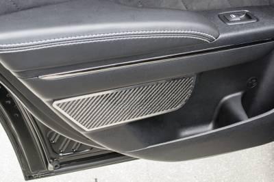 American Car Craft - American Car Craft Rear Carbon Fiber Door Badge 2pc: Dodge Charger 2011 - 2021 - Image 2