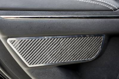 American Car Craft - American Car Craft Rear Carbon Fiber Door Badge 2pc: Dodge Charger 2011-2015