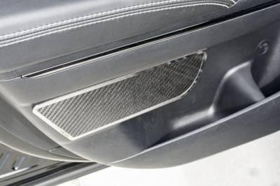 American Car Craft - American Car Craft Rear Carbon Fiber Door Badge 2pc: Dodge Charger 2011 - 2021 - Image 5