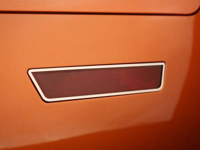 American Car Craft - American Car Craft Polished Side Marker Light Trim Rings 2pc: Dodge Charger R/T 2011-2014 - Image 3