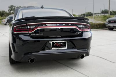 American Car Craft - American Car Craft Brushed Taillight Trim 4pc: Dodge Charger 2015 - 2021 - Image 6